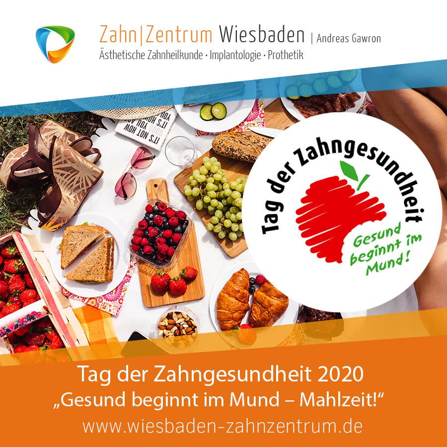 2020-09 Tag der Zahngesundheit - Zahnarztpraxis Wiesbaden