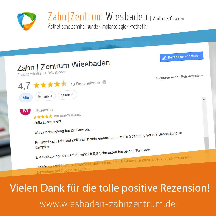 2020-10 positive Rezension Zahnarztpraxis Wiesbaden