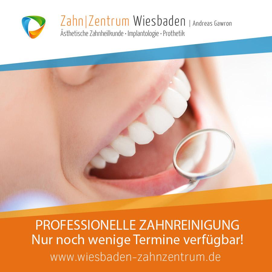 2020-11 Professionelle Zahnreinigung - Zahnarztpraxis in Wiesbaden